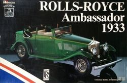 pocher rolls royce ambassador model